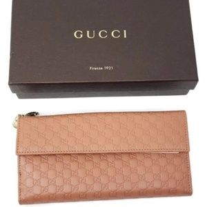 Brand New Gucci Brown Guccissima Leather Wallet